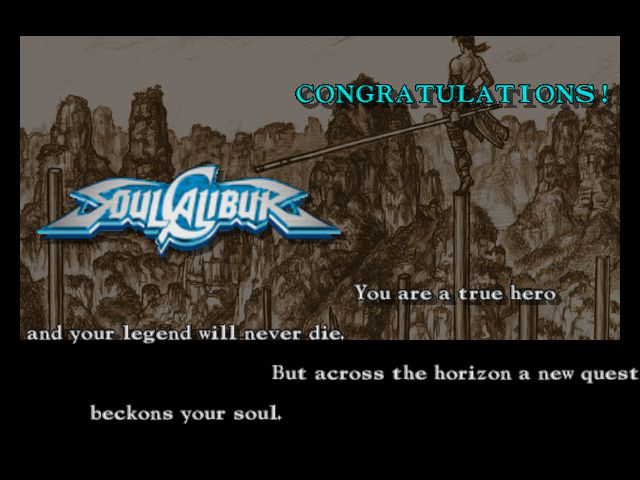 Soul Calibur - Gameover  - true dat word - User Screenshot