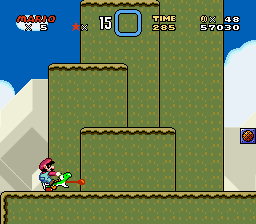 Super Mario World - Level  - mario hype - User Screenshot