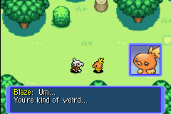 Pokemon Mystery Dungeon - Red Rescue Team - Cut-Scene  - Story of my life... - User Screenshot