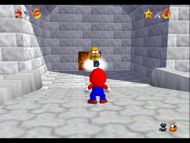 Super Mario 64 - Cut-Scene  - Smile! - User Screenshot