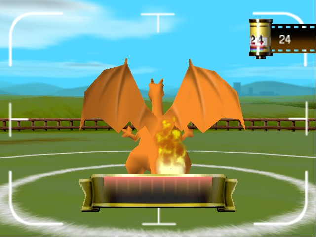 Pokemon Stadium - Misc  - the bars on FIRE GET SOME WATER  - User Screenshot