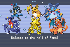 my awesome team to win kanto league