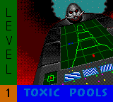 Sonic Spinball - Cut-Scene  - Toxic Pools! - User Screenshot