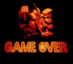 Super Donkey Kong Country 2 - Gameover  - prison - User Screenshot
