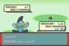 Pokemon Emerald - Battle  - YESSS!!!!!!! - User Screenshot