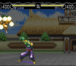 Dragon Ball Z - Hyper Dimension - Battle  - Piccolos Desperation Attack - User Screenshot