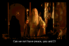 The Lord of the Rings - The Return of the King - Cut-Scene  - Can we not have peace? - User Screenshot
