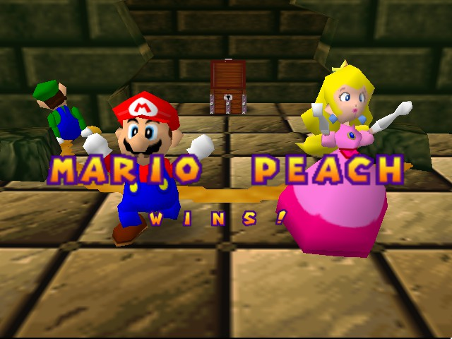 Mario Party - Mini-Game  - Poor luigi is left out. - User Screenshot