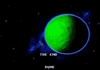 Dune - The Battle for Arrakis - Ending  -  - User Screenshot