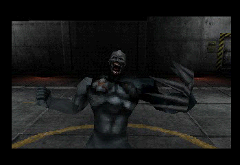 Resident Evil: Survivor - Misc  - Tyrant transforming - User Screenshot