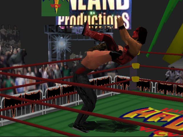 WCW Nitro - Cut-Scene  - Jacknife Powerbomb - User Screenshot