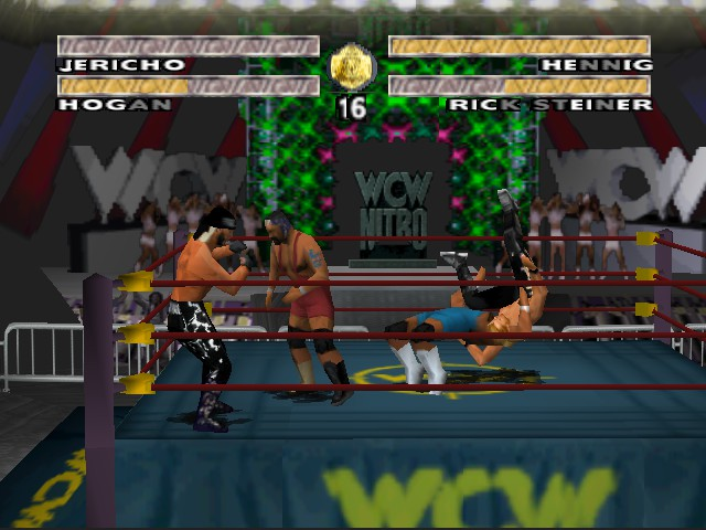 WCW Nitro - Cut-Scene  - Henning Plex - User Screenshot