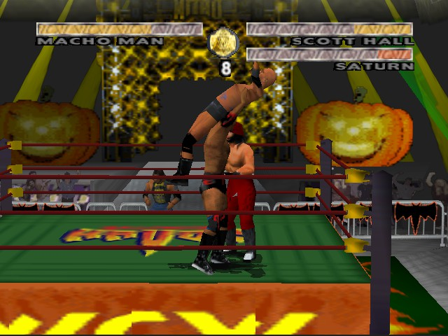 WCW Nitro - Character Select  - Outsiders Edge - User Screenshot