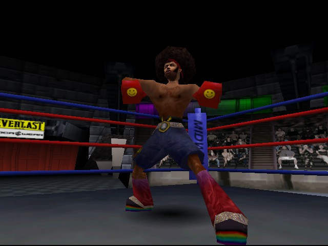 Ready 2 Rumble Boxing - Round 2 - Cut-Scene  - i am going to defeat her  - User Screenshot