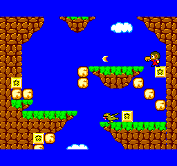 Alex Kidd in Miracle World - Misc Graphics - Punching frame of Alex with Bracelet on - User Screenshot