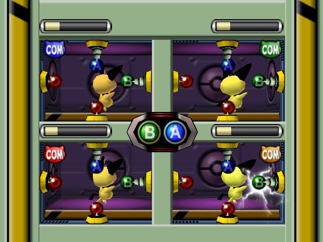 Pokemon Stadium 2 - Mini-Game Pichu
