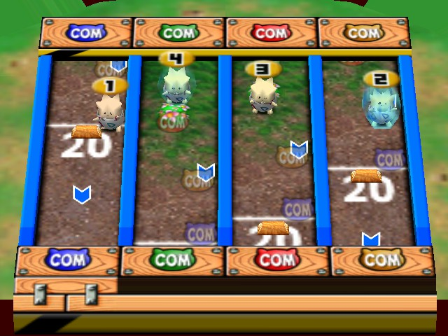 Pokemon Stadium 2 - Mini-Game Tumbling Togepi - Minigame - Tumbling Togepi - User Screenshot