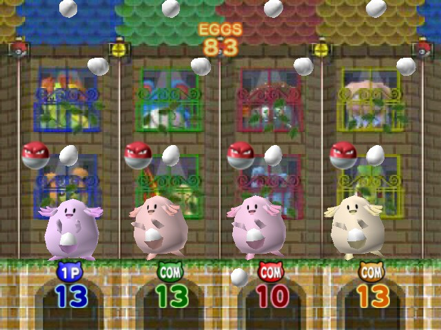 Pokemon Stadium 2 - Mini-Game Egg Emergency - Minigame - Egg Emergency - User Screenshot