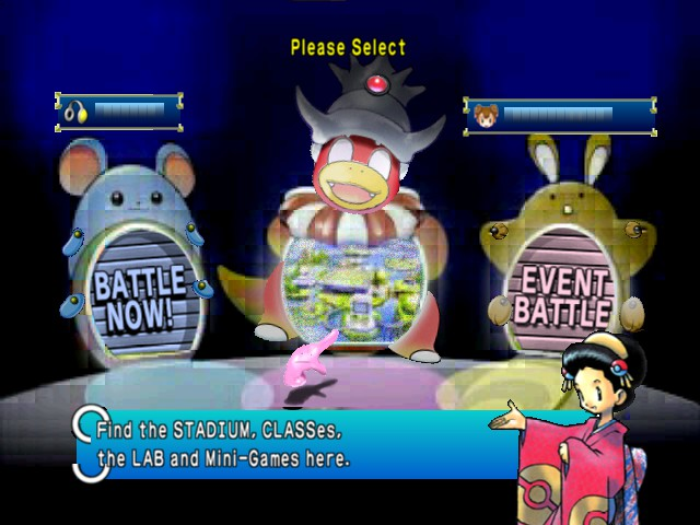 Pokemon Stadium 2 - Menus Main Menu - Main Menu - User Screenshot