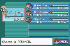 Pokemon Shiny Gold - Character Profile  - This is my team before 7th Gym Leader :) - User Screenshot