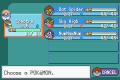 Pokemon Shiny Gold - Character Profile  - This is my team before 2nd Gym Leader :) - User Screenshot