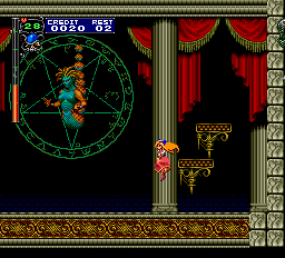 Castlevania - Rondo of Blood (english translation) - Battle  - Medusa appearing to fight - User Screenshot