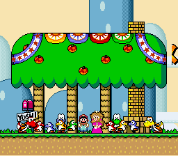 Super Mario World - Ending  - Yoshi babies! - User Screenshot