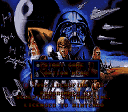Super Star Wars - Introduction  - STAR WARS! - User Screenshot