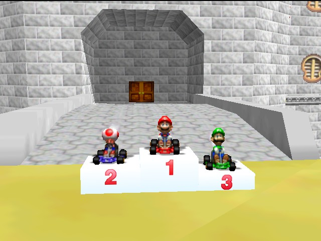 Mario Kart 64 - 1st  Place - User Screenshot