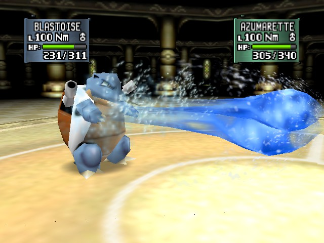 Pokemon Stadium 2 - SHOOT!!! - User Screenshot