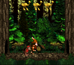 Donkey Kong Country - DK jumping for joy - User Screenshot