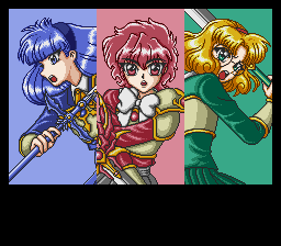 Magic Knight Rayearth - The 3 Magic Knights - User Screenshot