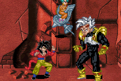 Dragon Ball GT - Transformation - GIANT BABY - User Screenshot