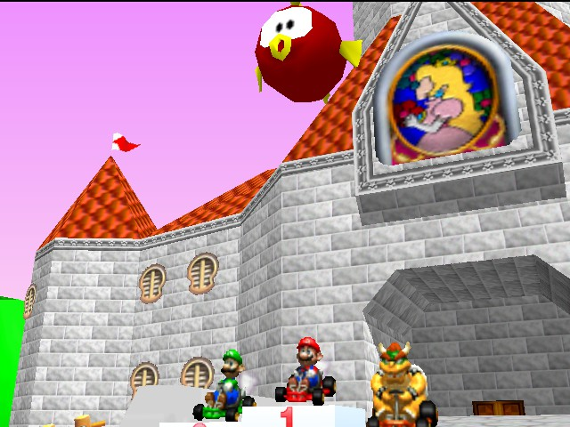 Mario Kart 64 - Mario,Luigi,Bowser - User Screenshot