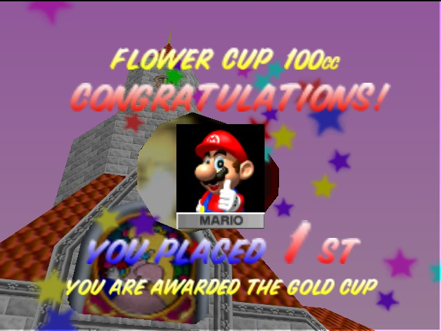 Mario Kart 64 - Mario is the one! - User Screenshot