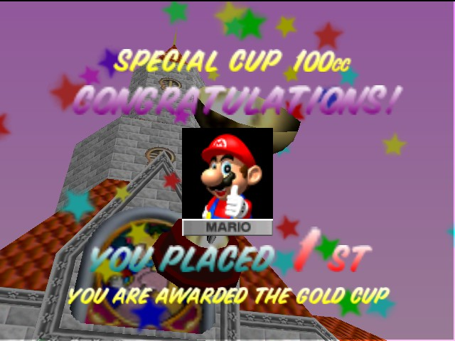 Mario Kart 64 - Mamamia!Number one again!!?? - User Screenshot