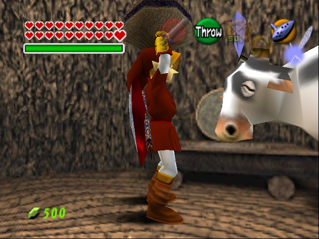 The Legend of Zelda - Ocarina of Time - Master Quest - Holy Cow! - User Screenshot