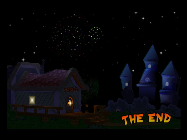 Paper Mario - Ending  - I finish the game - User Screenshot