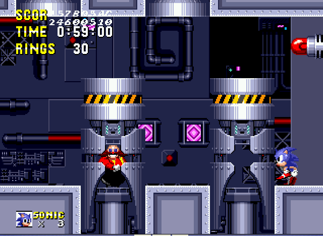 Sonic 1 Megamix - Lets Fight Dr.Eggman - User Screenshot