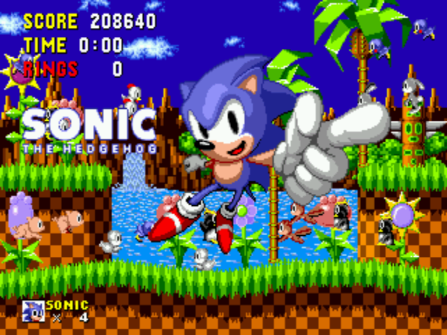 Sonic the Hedgehog - Ending  - Yay... - User Screenshot