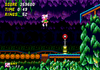 Amy Rose in Sonic the Hedgehog 2 - Amy can now transform into Super Amy - User Screenshot