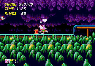 Amy Rose in Sonic the Hedgehog 2 - Super Amy to the rescue! - User Screenshot