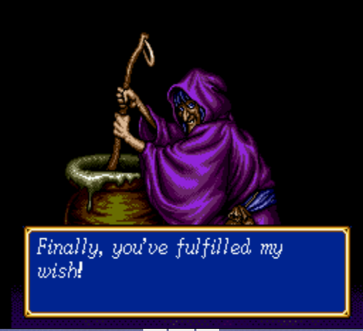 Shining Force II - The forest witch - User Screenshot