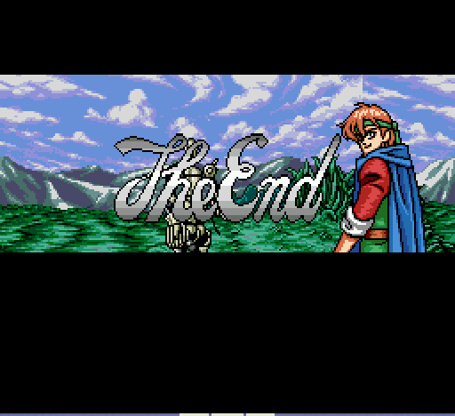 Shining Force - Final Screen... I beat the Dark Dragon!!!! - User Screenshot