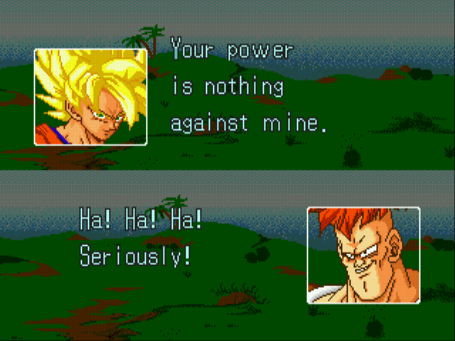 Dragon Ball Z (English) -  - User Screenshot