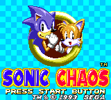 Sonic Chaos -  - User Screenshot