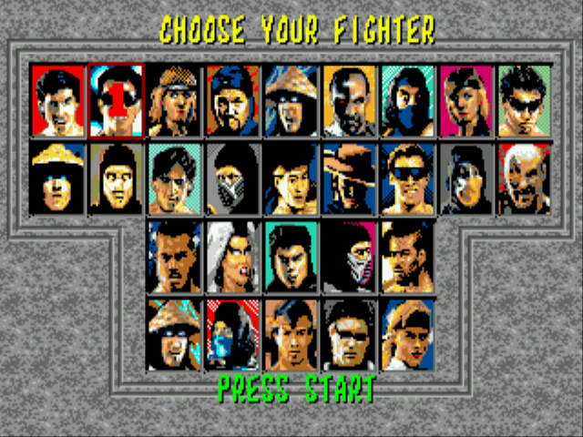 Mortal Kombat 6 28 People -  - User Screenshot
