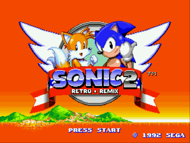 Sonic 2 Retro Remix - Introduction  -  - User Screenshot