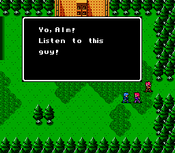 Fire Emblem Gaiden (english translation) -  - User Screenshot
