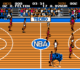 Tecmo Basketball (NBA 2K13 hack) -  - User Screenshot